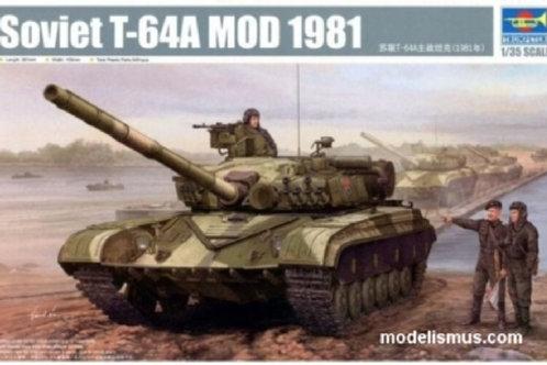 Советский танк Т-64А мод. 1981 года - Trumpeter 01579 1/35