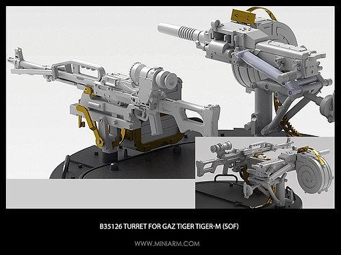 35126 MINIARM Турель для Тигр/Тигр-М (Печенег, Гранатомет АГС-17 с кронштейнами)
