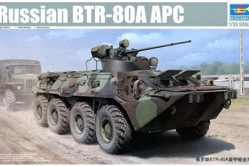 Российский БТР-80А - Trumpeter 01595 1:35