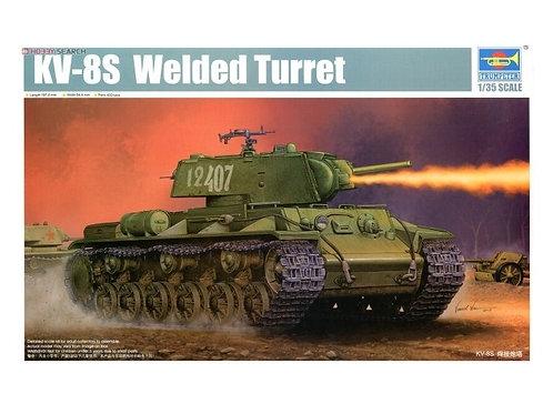 Советский танк КВ-8C сварная башня - Trumpeter 1:35 01568
