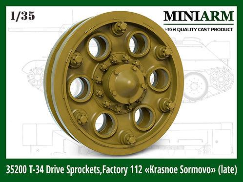 35200 MINIARM 1:35 Ведущие колеса Т-34 №112 Красное Сормово (поздние)