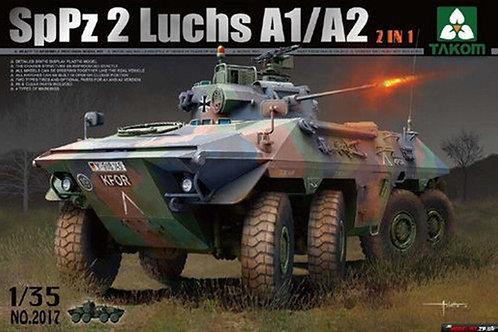 Bundeswehr SpPz 2 Luchs A1/A2 2 in 1 - Takom 2017 1/35