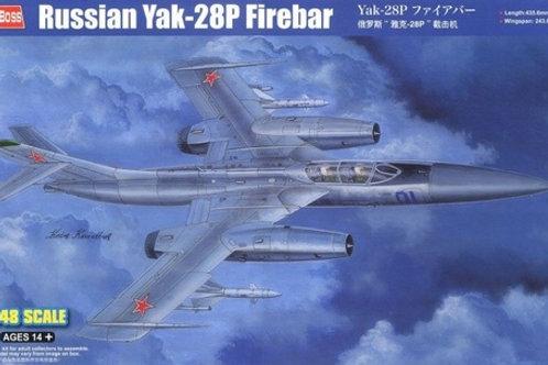 Советский самолет Як-28П / Russian Yak-28P Firebar - Hobby Boss 1:48 81767