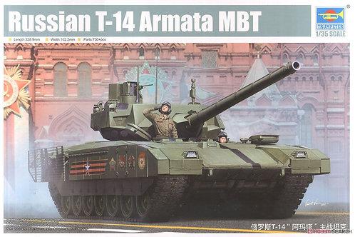 Российский танк Т-14 Армата - Trumpeter 09528 1/35
