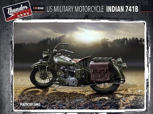 Два мотоцикла US Military Indian 741B - Thunder Model TM35003, 35003, 1/35