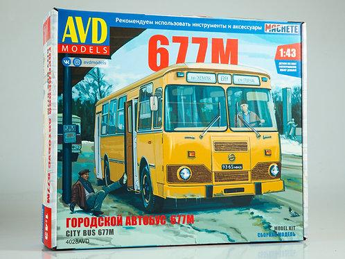 Городской автобус ЛИАЗ-677М - AVD Models 4028AVD 1:43