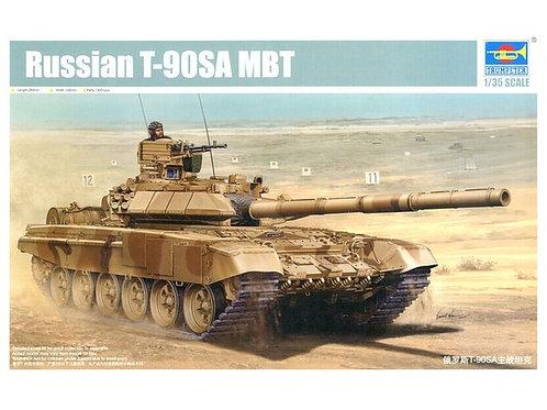 Российский танк Т-90С со сварной башней - Trumpeter 1:35 05563