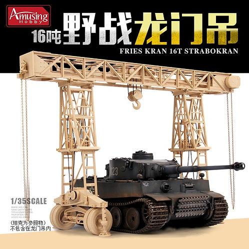 (под заказ) Немецкий кран 16 тонн Frieskran 16t Strabokran - Amusing 35B003 1:35