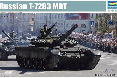 Российский танк Т-72Б3 MBT - Trumpeter 1:35 09508