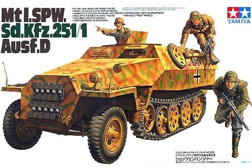 Немецкий БТР Sd.Kfz.251/1 Ausf.D - Tamiya 35195 1/35