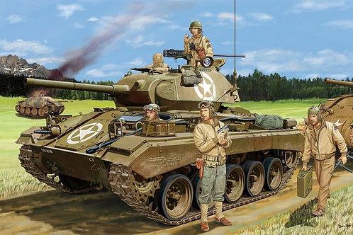 Танк Чаффи M24 ранний выпуск, Западная Европа 1944-45 - Bronco 1:35 CB35069