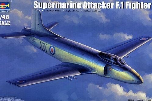 Supermarine Attacker F.1 Fighter - Trumpeter 1:48 02866