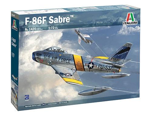 """Американский Сейбр F-86F Sabre """"MiG Killer"""" - Italeri 1:72 1426"""