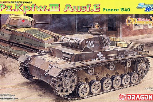 Pz.Kpfw.III Ausf.E France 1940 - Dragon 6631 1:35