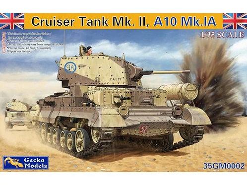 (под заказ) Cruiser Tank Mk. II, A10 Mk.IA - Gecko Models 35GM0002 1/35