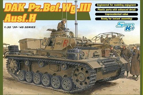 (под заказ) Танк Pz.III Ausf.H командирский, Африка - Dragon 6901 1:35