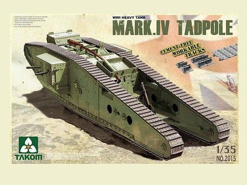 Британский танк Тадполе / Mark IV Male Tadpole - Takom 2015 1/35