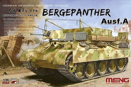 Немецкая БРЭМ Bergepanther Ausf.A - Meng Model SS-015 1/35