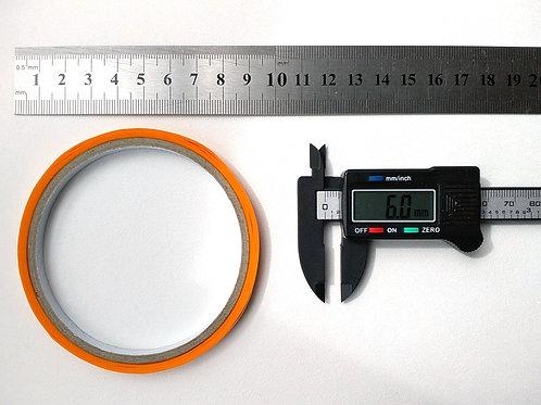 0,6 см Маскировочная лента скотч модельный, ширина 6 мм (цена за 1 шт.)