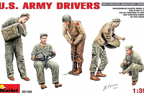 35180 MiniArt 1/35 Водители армии США