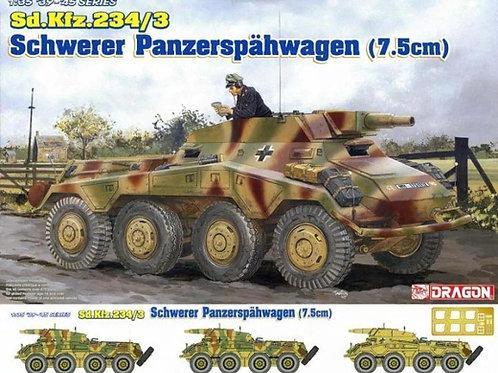 Бронеавтомобиль Sd.Kfz. 234/3 с 75-мм пушкой - Dragon 1:35 6257