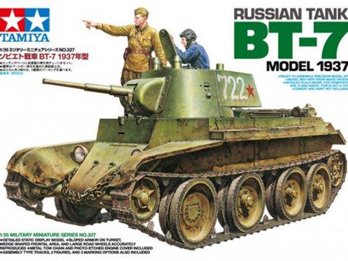 Советский танк БТ-7 мод. 1937 года - Tamiya 35327 1:35