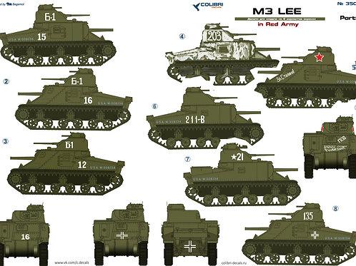35028 Colibri Decals 1/35 Декали М3 Ли в Красной Армии, ч.2 / M3 Lee in the Red