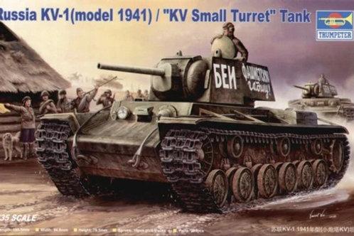 Танк КВ-1, мод. 1940 года, малая башня - Trumpeter 00356 1:35
