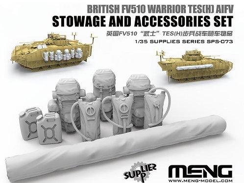 "Обвес на броню БМП ""Warrior"" FV510 TES(H) - Meng Model SPS-073 1/35"