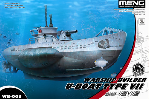 Warship Builder U-Boat Type VII - Meng Model WB-003 1:Egg
