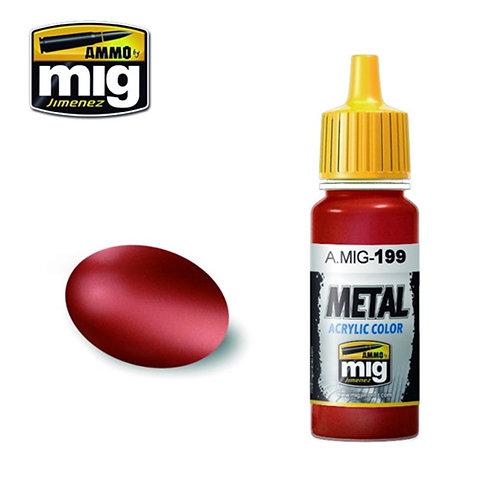 Ammo Mig AMIG-0199 METALLIC COPPER металлик медь 17 мл