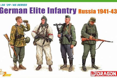 Немецкие элитные войска, Восточный фронт 1941-1943 - Dragon 1:35 6707 под заказ