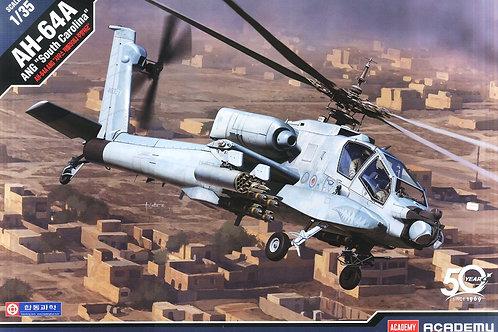 "(под заказ) Вертолет AH-64A ANG ""South Carolina"" Apache - Academy 1:35 12129"