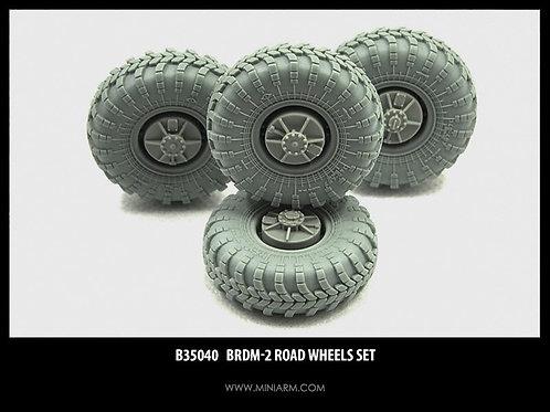 MINIARM B35040 Набор колес БРДМ-2, 4 шт - 1:35 35040