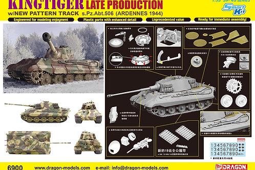 Королевский Тигр, поздняя серия, 506 ТТБ, Арденны 1944 - Dragon 6900 1:35