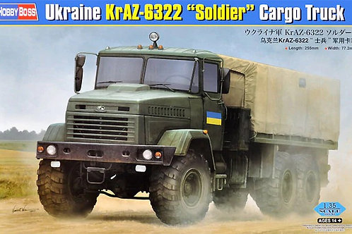 "Украинский грузовик КрАЗ-6322 ""Солдат"" - Hobby Boss 1:35 85512"