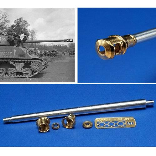 76-мм пушка M1A2 для М4 Sherman Шерман - 35B10 RB Model 1/35