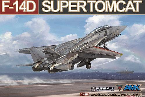 (под заказ) Grumman F-14D Super Tomcat - AMK 1:48 88007