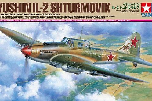 Советский штурмовик Ил-2 - Tamiya 1:48 61113