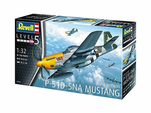 Самолет P-51D-5NA Mustang Early Version - Revell 1:32 03944 - под заказ