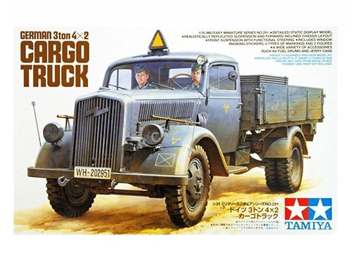 Немецкий 3-тонный грузовик Опель Блитц - Tamiya 1:35 35291