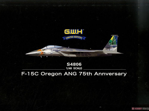 Самолет F-15C Oregon ANG 75th Annversary Great Wall Hobby 1:48 S4806 - под заказ