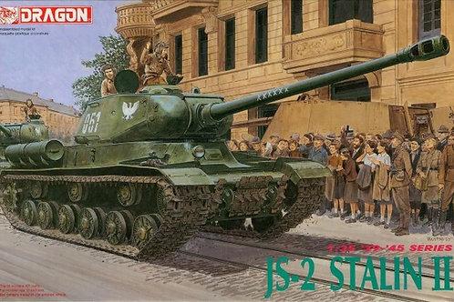 Советский танк ИС-2 ранний - Dragon 6012 1:35 (редкий набор)