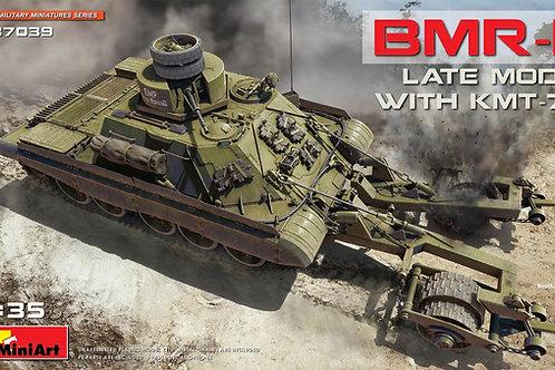 Советская БМР-1 поздних модификаций с КМТ-7 - MiniArt 37039 1/35
