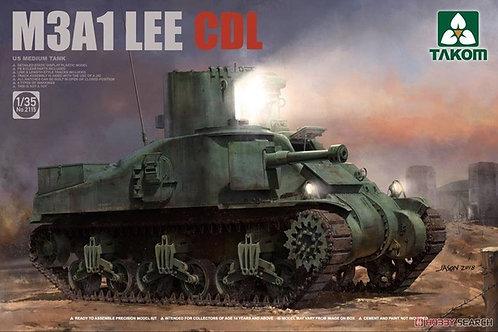 "Американский танк ""Ли"" M3A1 CDL - Takom 1:35 2115"