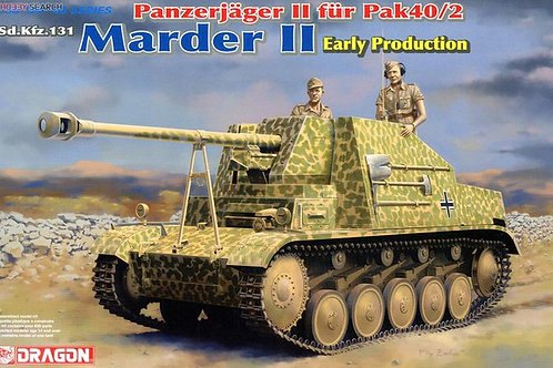 Немецкая САУ Мардер 2 ранняя, Marder II Early Production - Dragon 6769 1:35