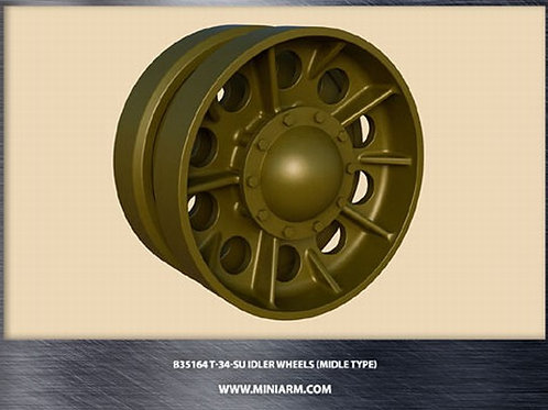 MINIARM 35164 Ленивцы без колец усиления T-34, СУ - b35164 1:35