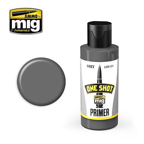 Ammo Mig A.MIG-2024 Грунтовка серая ONE SHOT PRIMER - GREY