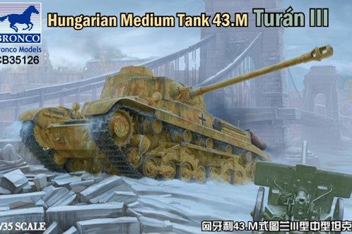 Венгерский танк Туран 43.m Turan III - Bronco 1:35 CB35126