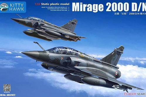 (анонс 2020) Mirage 2000 D/N - Kitty Hawk 1:32 KH32022